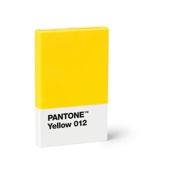 Suport cărți de vizită Pantone, galben bonami.ro