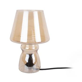 Veioză din sticlă Leitmotiv Classic Glass,ø16cm, maro bonami.ro