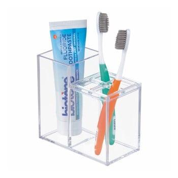 Suport pentru periuțe și pasta de dinți iDesign bonami.ro