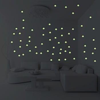Set 100 steluțe fosforescente Ambiance Stars bonami.ro