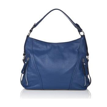 Geantă elegantă, din piele Giorgio Costa Sissala, albastru imagine