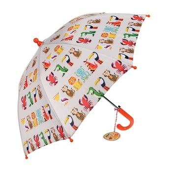 Umbrelă pentru copii Rex London Colourful Creatures, ⌀64cm bonami.ro
