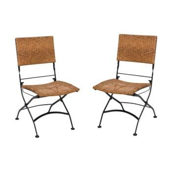 Set 2 scaune pliante de grădină ADDU Graz bonami.ro