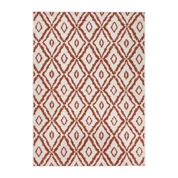 Covor adecvat pentru exterior Bougari Rio, 200 x 290 cm, roșu - alb imagine