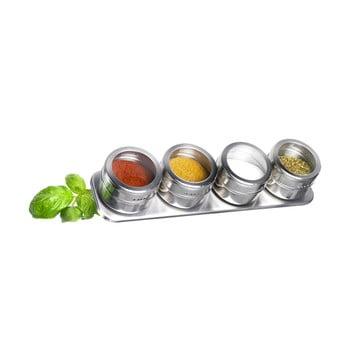 Set 4 recipiente condimente Westmark Spice Rack bonami.ro