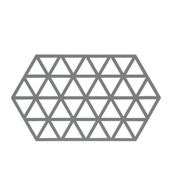 Suport din silicon pentru oale fierbinți Zone Triangles, gri poza bonami.ro