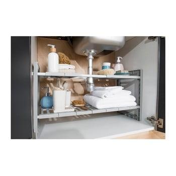 Raft cu lăţime reglabilă pentru chiuvetă Compactor Expandable Shelf bonami.ro