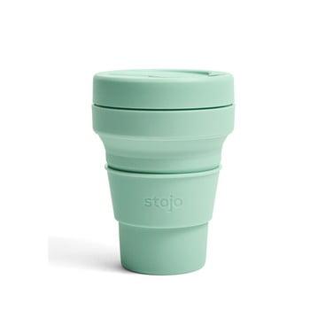Cană pliabilă Stojo Pocket Cup Seafoam, 355 ml, verde poza bonami.ro
