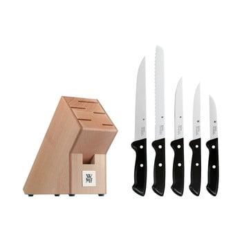 Set 5 cuțite din oțel inoxidabil cu suport WMF Cromargan® Classic bonami.ro