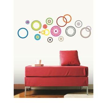 Set autocolante Ambiance Colorful Bubbles bonami.ro