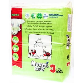 Scutece pentru bebeluși Muumi Baby Midi, mărimea 3, 3 x 50 poza bonami.ro