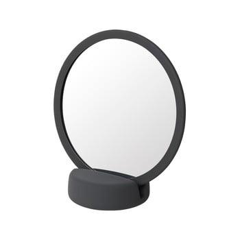 Oglindă cosmetică pentru masă Blomus, înălțime 18,5 cm, gri-negru bonami.ro