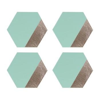 Set 4 suport farfurii din piele Premier Housewares Jade, 30 x 26 poza bonami.ro