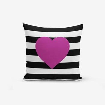Față de pernă cu amestec de bumbac Minimalist Cushion Covers Purple,45x45cm bonami.ro