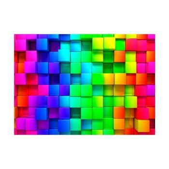 Tapet format mare Bimago Cubes, 400 x 280 cm poza bonami.ro