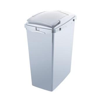 Coș de gunoi din plastic reciclat Addis Eco Range, 40 l, gri poza bonami.ro