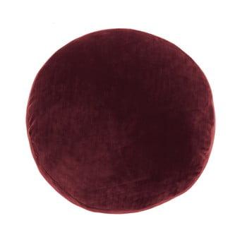 Pernă decorativă din microfibră Tiseco Home Studio Marshmallow,ø40cm, roșu bonami.ro