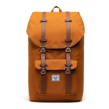 Rucsac Herschel Little America, portocaliu-maro, 25 l imagine