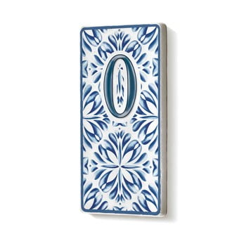 Placă număr casă din ceramică The Mia 0 bonami.ro
