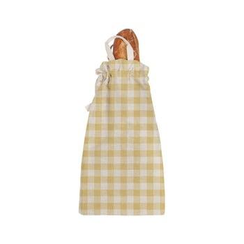 Sacoșă textilă pentru pâine Linen Couture Linen Bread Bag Yellow Vichy bonami.ro