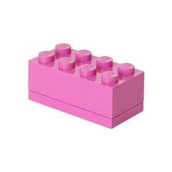 Cutie depozitare LEGO® Mini Box, roz bonami.ro