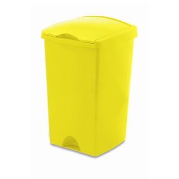 Coș de gunoi cu capac Addis Lift, 50 l, galben bonami.ro