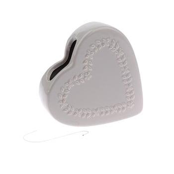 Umidificator aer din ceramică Dakls Heart, gri poza bonami.ro
