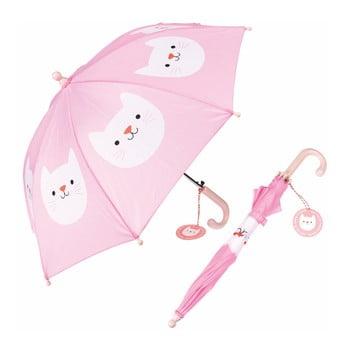 Umbrelă Rex London Cookie The Cat, roz bonami.ro