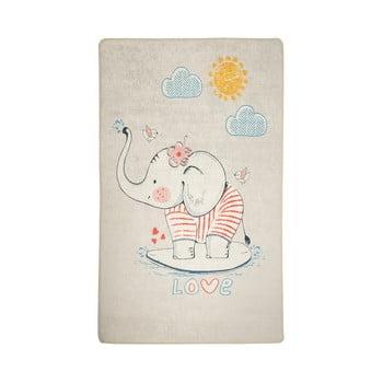 Covor antiderapant pentru copii Lovely,140x190cm poza bonami.ro