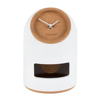 Ceas de masă Zuiver Uno, alb bonami.ro