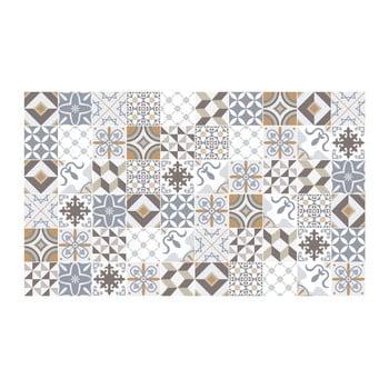 Set 60 autocolante de perete Ambiance Cement Tiles Liliania, 10 x 10 cm bonami.ro