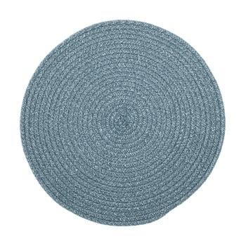 Suport pentru farfurie din amestec de bumbac Tiseco Home Studio,ø38cm, albastru bonami.ro