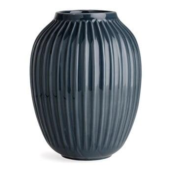 Vază din gresie Kähler Design Hammershoi, antracit, înălțime 25 cm bonami.ro