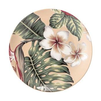 Farfurie din ceramică Bloomingville Aruba Jungle, ⌀20 cm bonami.ro