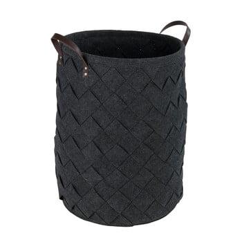 Coș pentru rufe Wenko Trovo, negru, 75 l bonami.ro