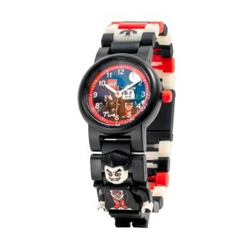 Ceas de mână cu curea pliabilă și minifigurină LEGO® Vampire, negru bonami.ro
