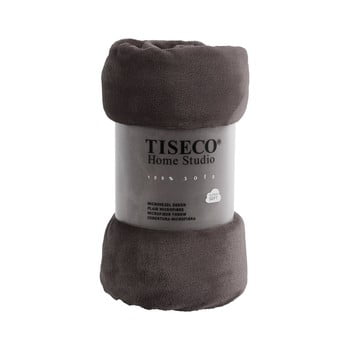 Pătură din micropluș Tiseco Home Studio,220x240cm, gri bonami.ro