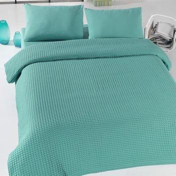 Cuvertură subțire de pat Eponj Home Green Pique, 200 x 230 cm bonami.ro