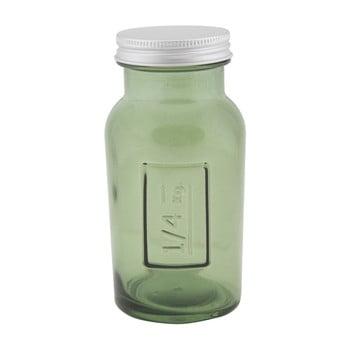 Borcan din sticlă reciclată Mauro Ferretti Coperchio, ⌀ 6,5 cm, verde bonami.ro