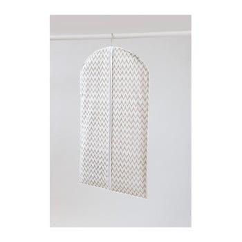 Husă pentru îmbrăcăminte Compactor Clear, lungime 100 cm, alb bonami.ro