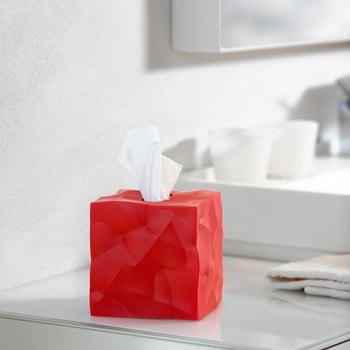 Cutie pentru batiste de hârtie Wipy Cube Red bonami.ro