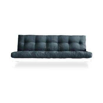 Canapea extensibilă Karup Design Indie White/Petrol Blue, albastru imagine