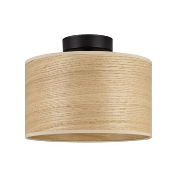 Plafonieră cu abajur din lemn de stejar Sotto Luce TSURI S poza bonami.ro