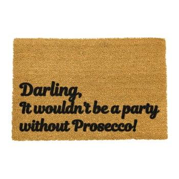 Covoraș intrare din fibre de cocos Artsy Doormats Darling Prosecco, 40 x 60 cm bonami.ro