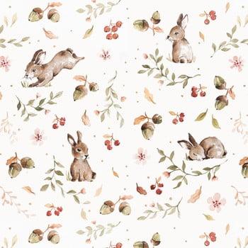 Tapet Dekornik Happy Rabbits, 50 x 280 cm poza bonami.ro