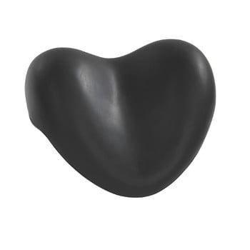 Suport pentru cadă Wenko Bath Pillow Black, 25 x 11 cm, negru bonami.ro
