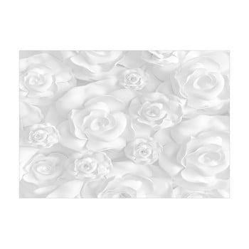 Tapet format mare Bimago Plaster Flowers, 400 x 280 cm bonami.ro