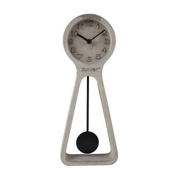 Ceas de masă din beton Zuiver Pendulum, gri bonami.ro