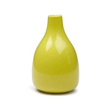 Vază din gresie ceramică Kähler Design Botanica, înălțime 18 cm, galben poza bonami.ro