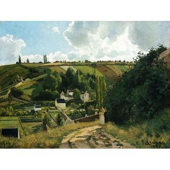 Reproducere tablou Camille Pissarro - Jalais Hill Pontoise, 80 x 60 cm bonami.ro